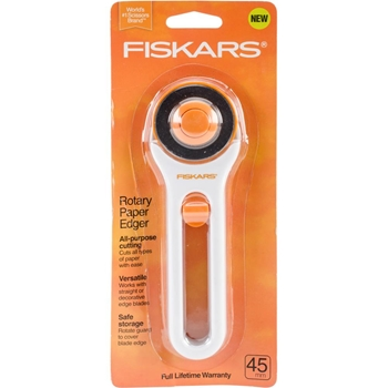 Fiskars ROTARY PAPER EDGER All Purpose Cutting Tool 06212