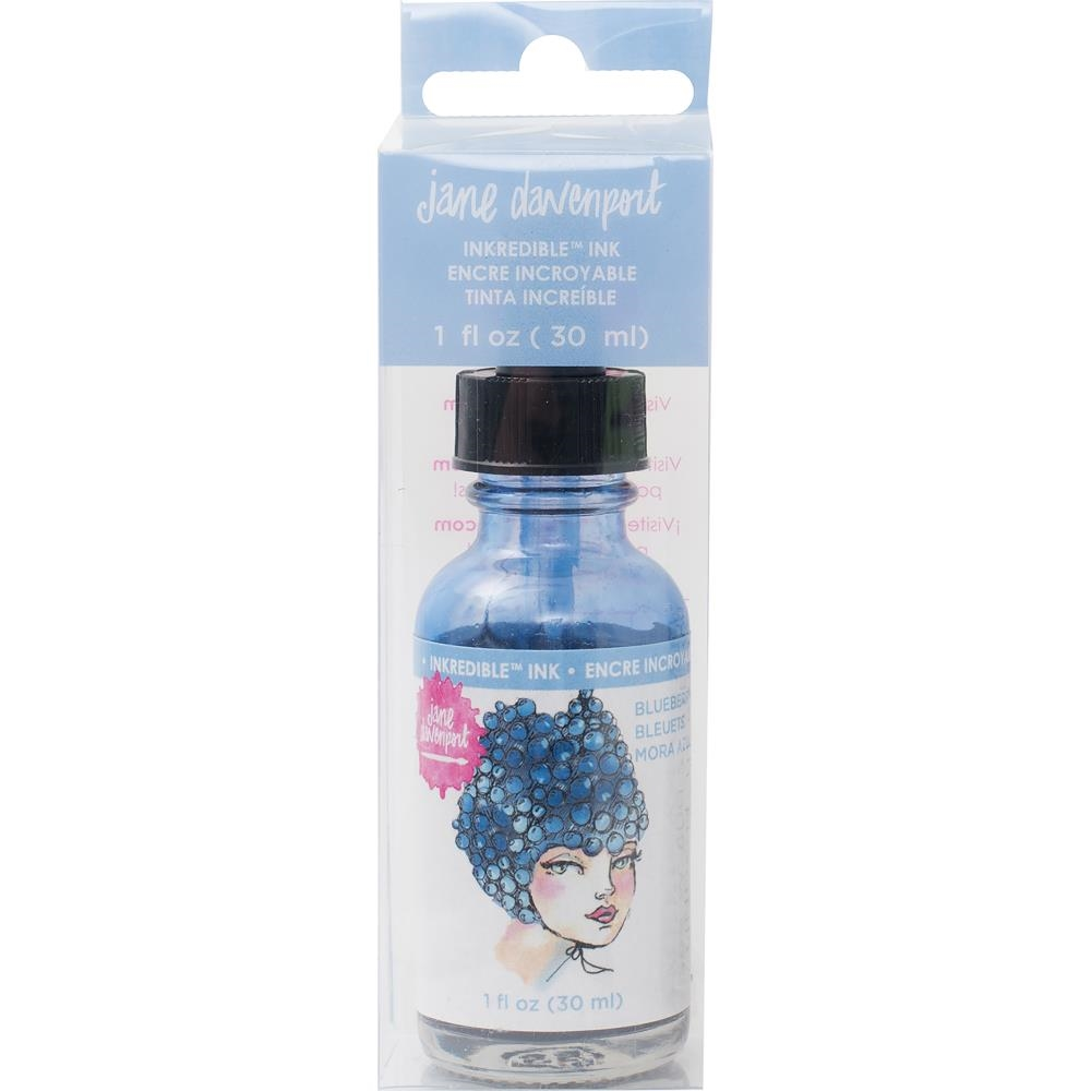 Jane Davenport BLUEBERRY Inkredible Scented Ink Mixed Media 2 377008 zoom image