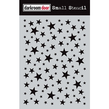 Darkroom Door STARRY NIGHT Small Stencil ddss012