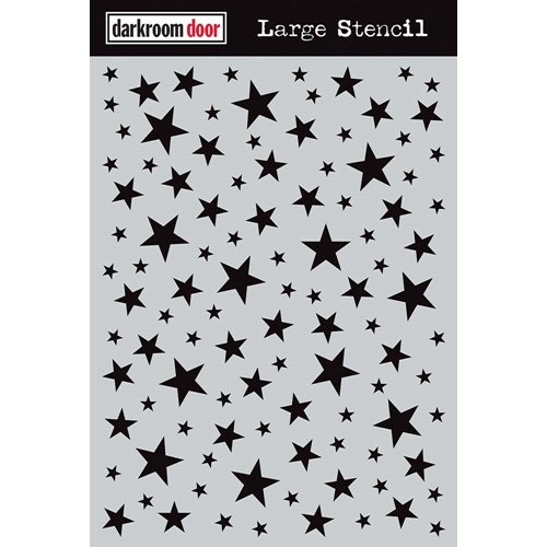 Darkroom Door STARRY NIGHT Large Stencil ddls008 Preview Image