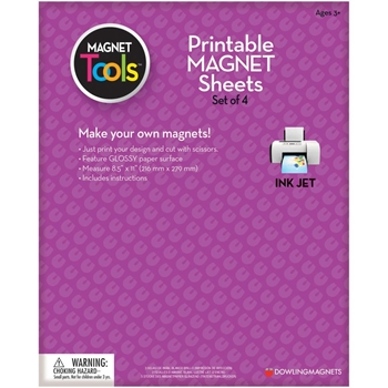 Dowling Magnets Printable MAGNETIC SHEETS 735004