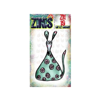 Paper Artsy ZINI 19 Maxi Mini Rubber Cling Stamp ZN19