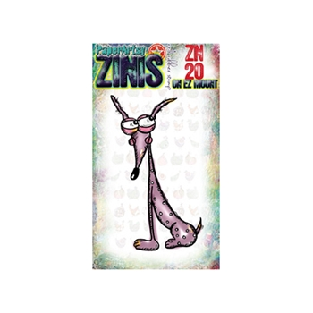 Paper Artsy ZINI 20 Maxi Mini Rubber Cling Stamp ZN20