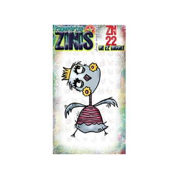 Paper Artsy ZINI 22 Maxi Mini Rubber Cling Stamp ZN22