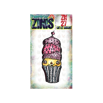 Paper Artsy ZINI 27 Maxi Mini Rubber Cling Stamp ZN27