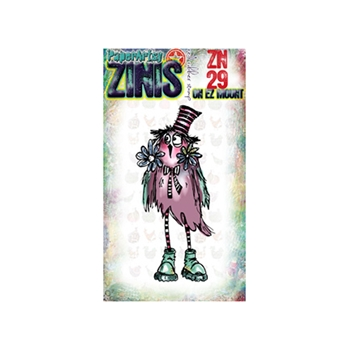 Paper Artsy ZINI 29 Maxi Mini Rubber Cling Stamp ZN29