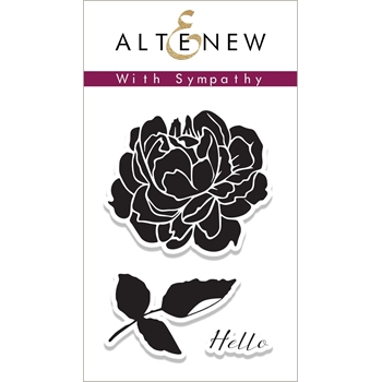 Altenew WITH SYMPATHY Clear Stamp Set ALT2077