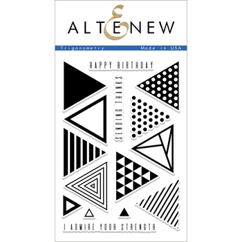 Altenew TRIGONOMETRY Clear Stamp Set ALT2071