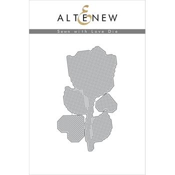 Altenew SEWN WITH LOVE Die Set ALT2067