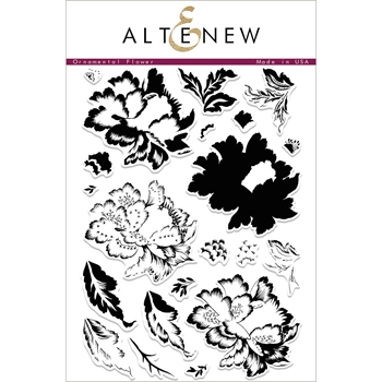 Altenew ORNAMENTAL FLOWER Clear Stamp Set ALT2063