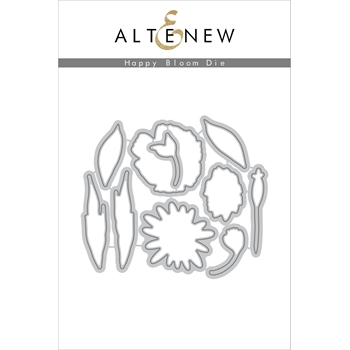 Altenew HAPPY BLOOM Die Set ALT2061