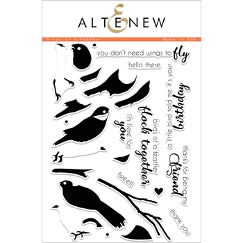 Altenew BIRDS OF A FEATHER Clear Stamp Set ALT2051