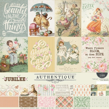 Authentique JUBILEE 12 x 12 Collection Kit jub009