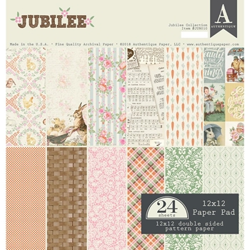 Authentique JUBILEE 12 x 12 Paper Pad jub010