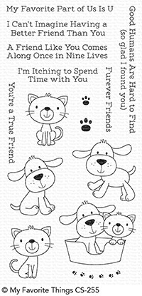 My Favorite Things FUREVER FRIENDS Clear Stamps CS255 zoom image