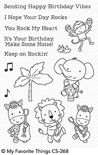 My Favorite Things JUNGLE VIBES Clear Stamps CS268