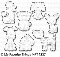 My Favorite Things CANINE COMPANIONS Die-Namics MFT1237