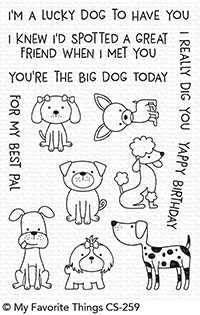 My Favorite Things CANINE COMPANIONS Clear Stamps CS259