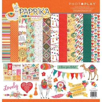 PhotoPlay PAPRIKA 12 x 12 Collection Pack pk8842
