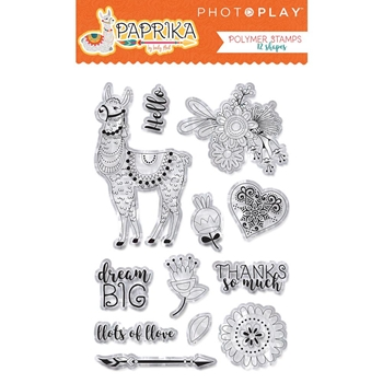 PhotoPlay PAPRIKA Clear Stamps pk8844