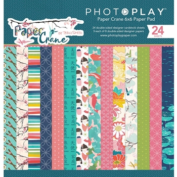 PhotoPlay PAPER CRANE 6 x 6 Paper Pad pc8834