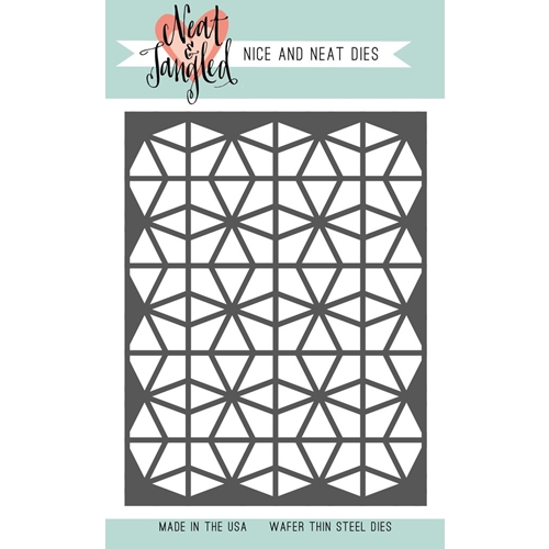 Neat and Tangled GEOMETRIC CIRCLES COVER PLATE DIE NAT354 Preview Image