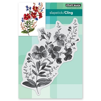 Penny Black Cling Stamp BLOSSOM BRANCH Rubber Unmounted 40-588