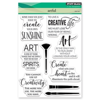 Penny Black Clear Stamps ARTFUL 30-480