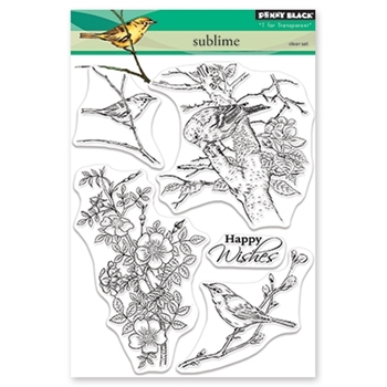 Penny Black Clear Stamps SUBLIME 30-478