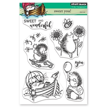 Penny Black Clear Stamps SWEET YOU 30-471