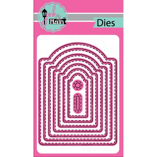 Pink and Main ARCH TAG Die Set PNM137 Preview Image