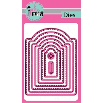 Pink and Main ARCH TAG Die Set PNM137