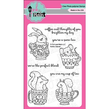 Pink and Main PERFECT BLEND Clear Stamp Set PM0261