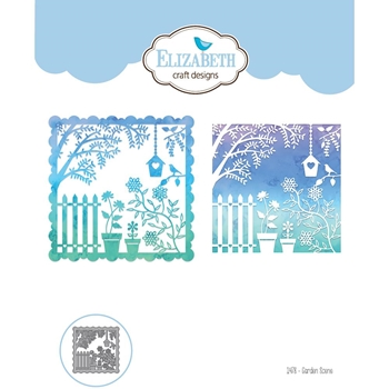 Elizabeth Craft Designs GARDEN SCENE Craft Die 1478