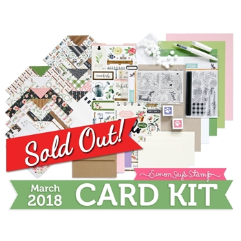 Simon Says Stamp Card Kit of The Month MARCH 2018 CHOOSE JOY ck0318