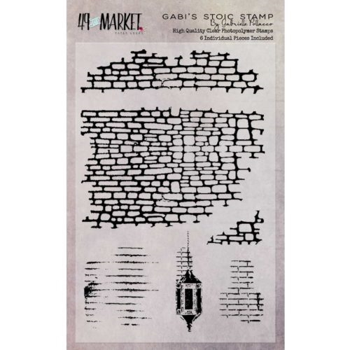 49 and Market GABI'S STOIC Clear Stamp Set GP-87513* Preview Image