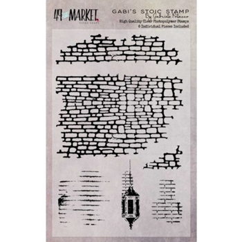 49 and Market GABI'S STOIC Clear Stamp Set GP-87513