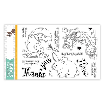 RESERVE Simon Says Clear Stamps SHOWERS & FLOWERS sss101822
