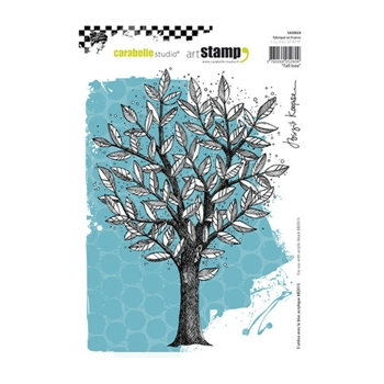 Carabelle Studio TALL TREE Cling Stamp sa50024