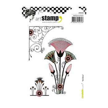 Carabelle Studio ART DECO Cling Stamp sa60350