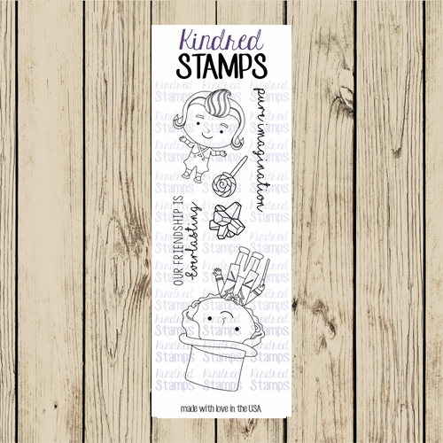 Kindred Stamps CANDY MAN Clear Stamp Set ks5987 Preview Image
