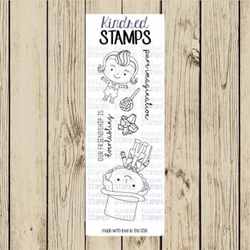 Kindred Stamps CANDY MAN Clear Stamp Set ks5987