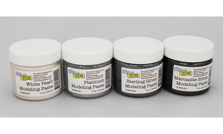 The Crafter's Workshop MINI COOL METALLIC Paste Assortment tcw9035 zoom image
