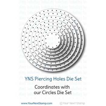 Your Next Die CIRCLES - PIERCING HOLES ynsd165