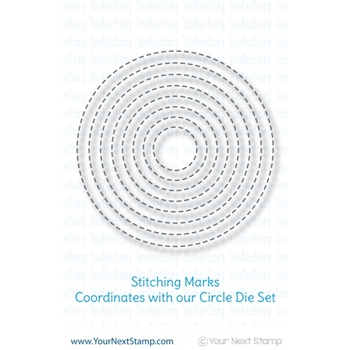 Your Next Die CIRCLES - STITCHING MARKS ynsd199