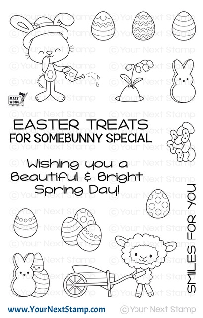 Your Next Stamp SPRING TREATS Clear cyns632 zoom image