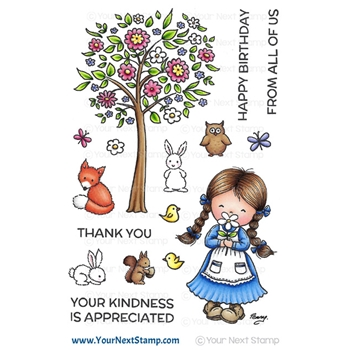 Your Next Stamp WOODLAND JESSICA Clear cyns525