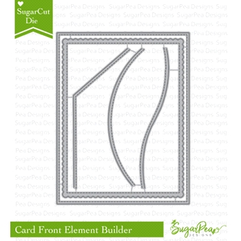 SugarPea Designs CARD FRONT ELEMENT BUILDER SugarCuts Dies spd-00261