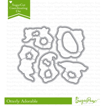SugarPea Designs OTTERLY ADORABLE SugarCuts Dies spd-00267