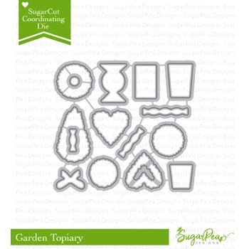 SugarPea Designs TOPIARY GARDEN SugarCuts Dies spd-00270